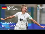 Laura FREIGANG - GOAL OF THE TOURNAMENT Nominee