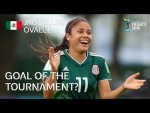 Jacqueline OVALLE - GOAL OF THE TOURNAMENT Nominee