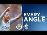 SILVA STRIKES!   EVERY ANGLE   Silva v Huddersfield