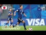 Fuka NAGANO - GOAL OF THE TOURNAMENT Nominee