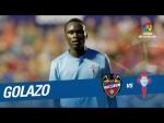 Golazo de Pione Sisto (0-1) Levante UD vs RC Celta