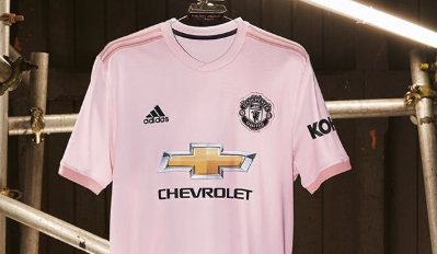 sneakers for cheap 604f6 166a1 Manchester United reveal pink away shirt - Footballghana