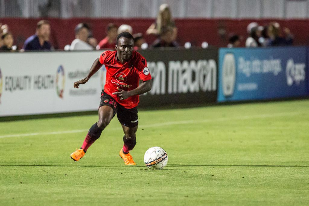 Solomon Asante grabs 11th league goal for Phoenix Rising in victory over Portland Timbers II