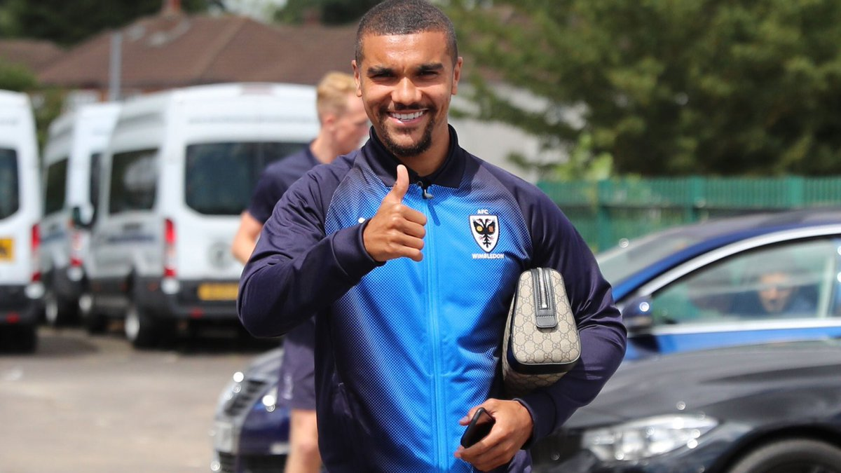 AFC Wimbledon striker Kwesi Appiah delighted with opening day victory against Fleetwood Town