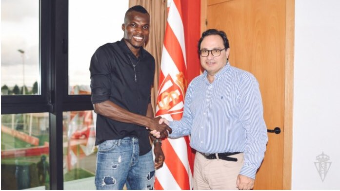 OFFICIAL: Ghana midfielder Isaac Coffie completes move to Sporting Gijon