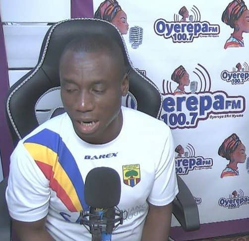 Hearts of Oak administrative manager opens up on reasons behind crest change