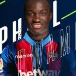 BREAKING NEWS: Ghana forward Raphael Dwamena joins Spanish side UD Levante on a four year deal