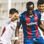 Raphael Dwamena impresses on La Liga debut for Levante