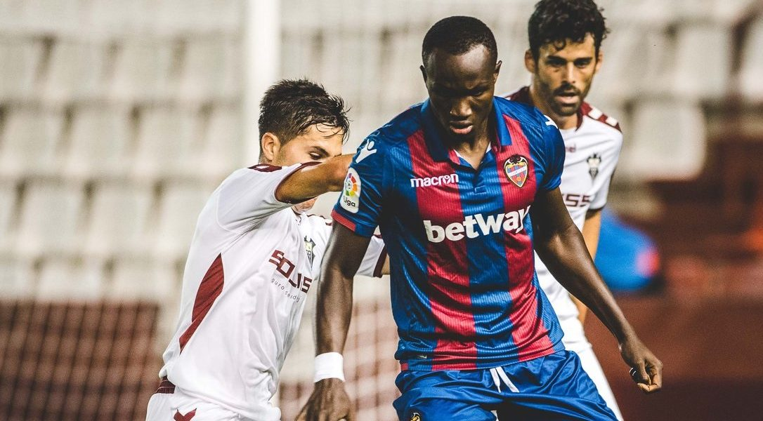 Ghana forward Raphael Dwamena marks Levante debut in preseason friendly