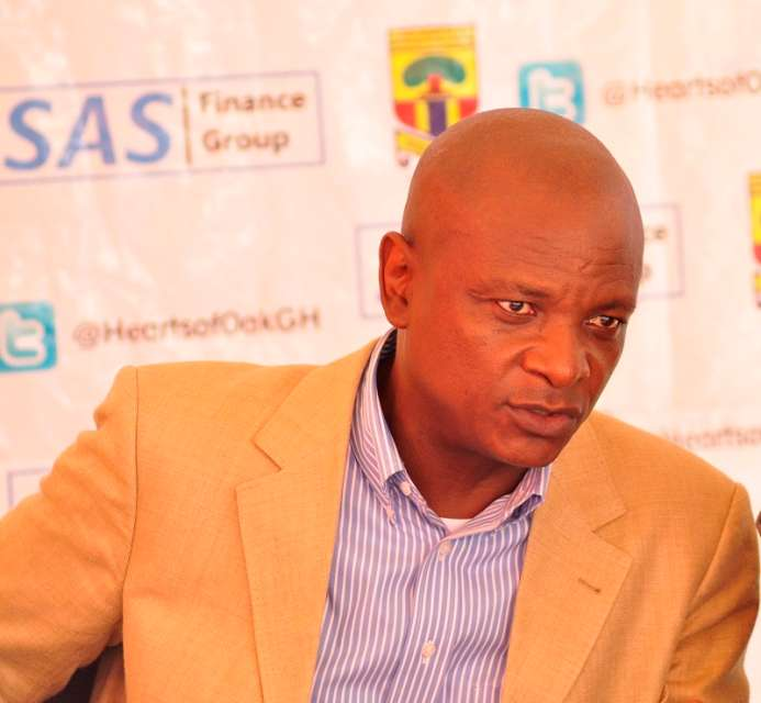 Hearts of Oak club chairman Togbe Afede hints on building a new club secretariat