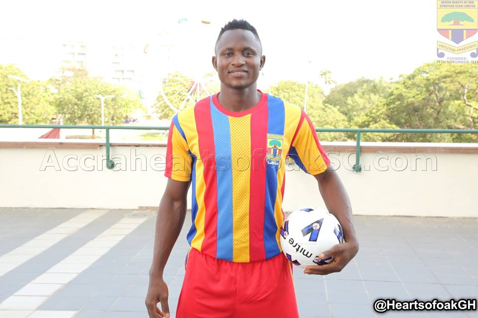 Hearts of Oak striker Joseph Esso unhappy with Augustine Sefa's reckless tackle
