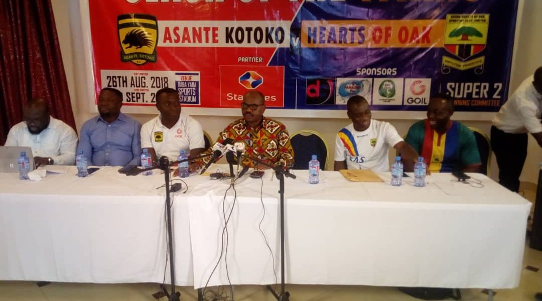 'Super 2 Clash' between Kotoko & Hearts officially launched