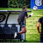 Kwadwo Asamoah returns to training ahead of Serie A opener with Sassuolo