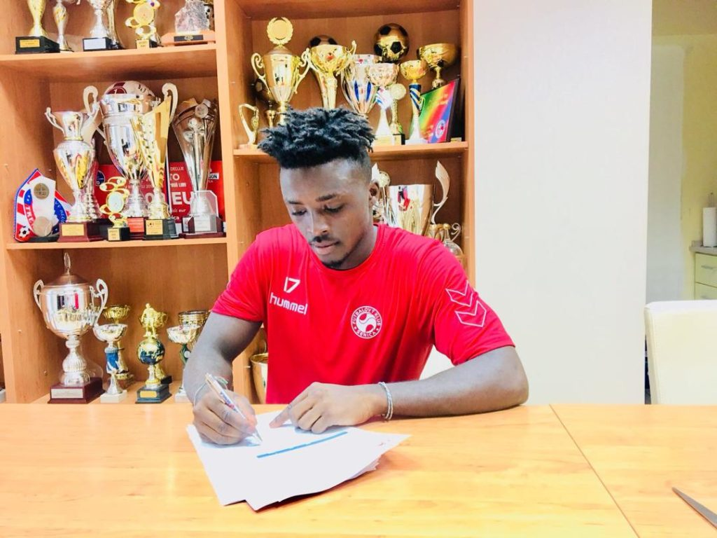 Patrick Asmah's move to Slovakian side FK Senica confirmed by Atalanta FC