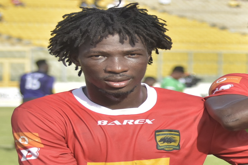 Kotoko forward Striker Sogne express interest in playing for Barcelona