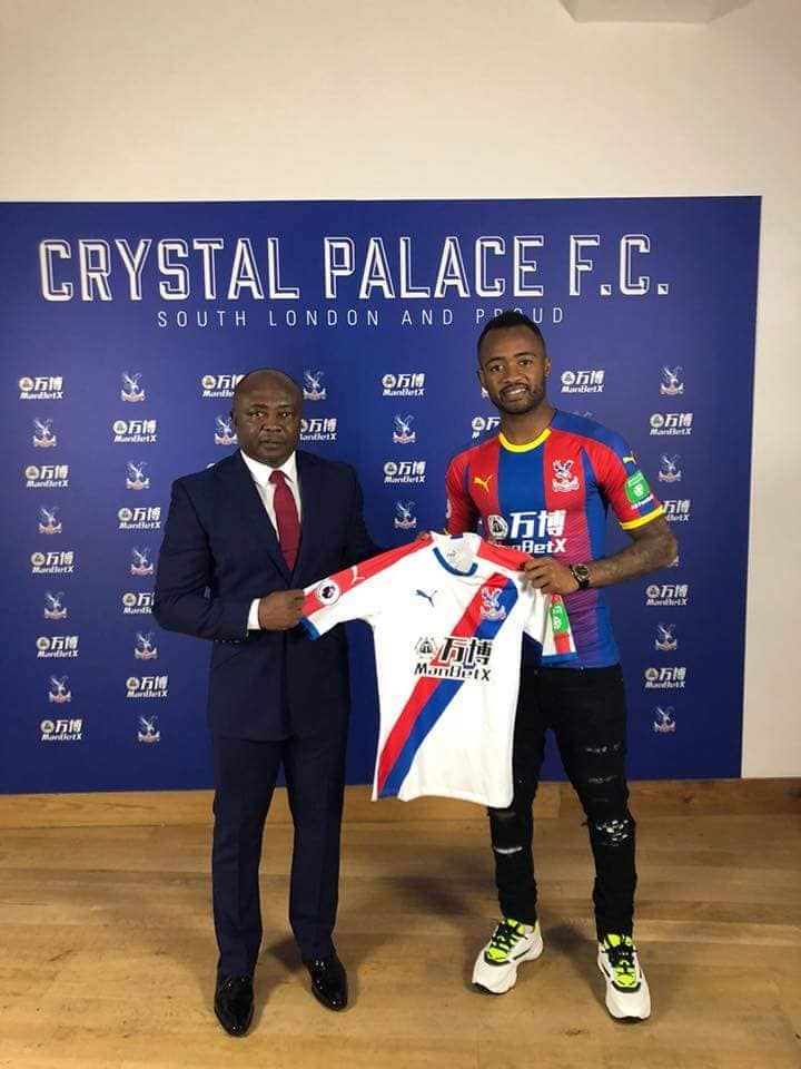 BREAKING NEWS: Crystal Palace sign Jordan Ayew on loan from Swansea City