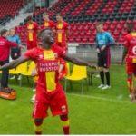 Dutch side GO Ahead Eagles terminate Ghana striker Shadrach Eghan's contract