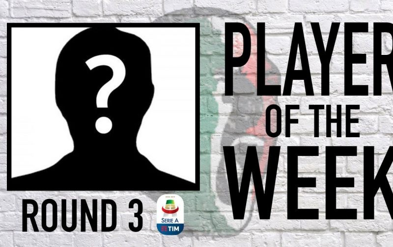 Serie A Player of the Week | Round 3