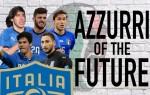 29 Italian Youngsters – Azzurri of the Future