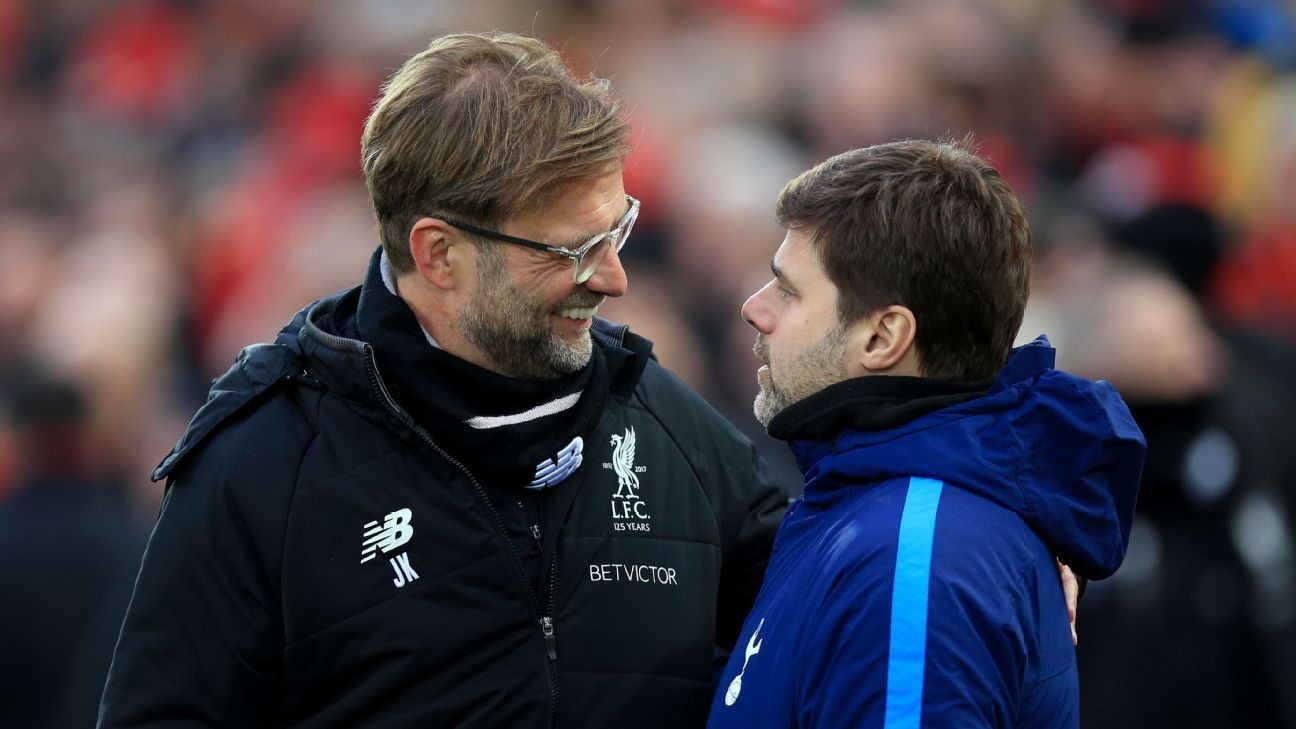Pochettino vs. Klopp a battle of Premier League's brightest minds