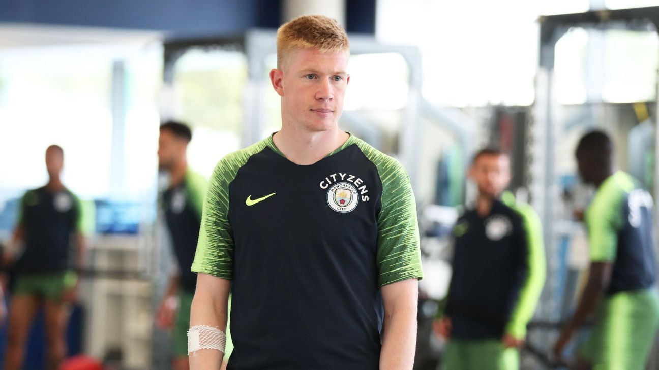 Manchester City's Pep Guardiola: Kevin De Bruyne has no release clause and is not for sale