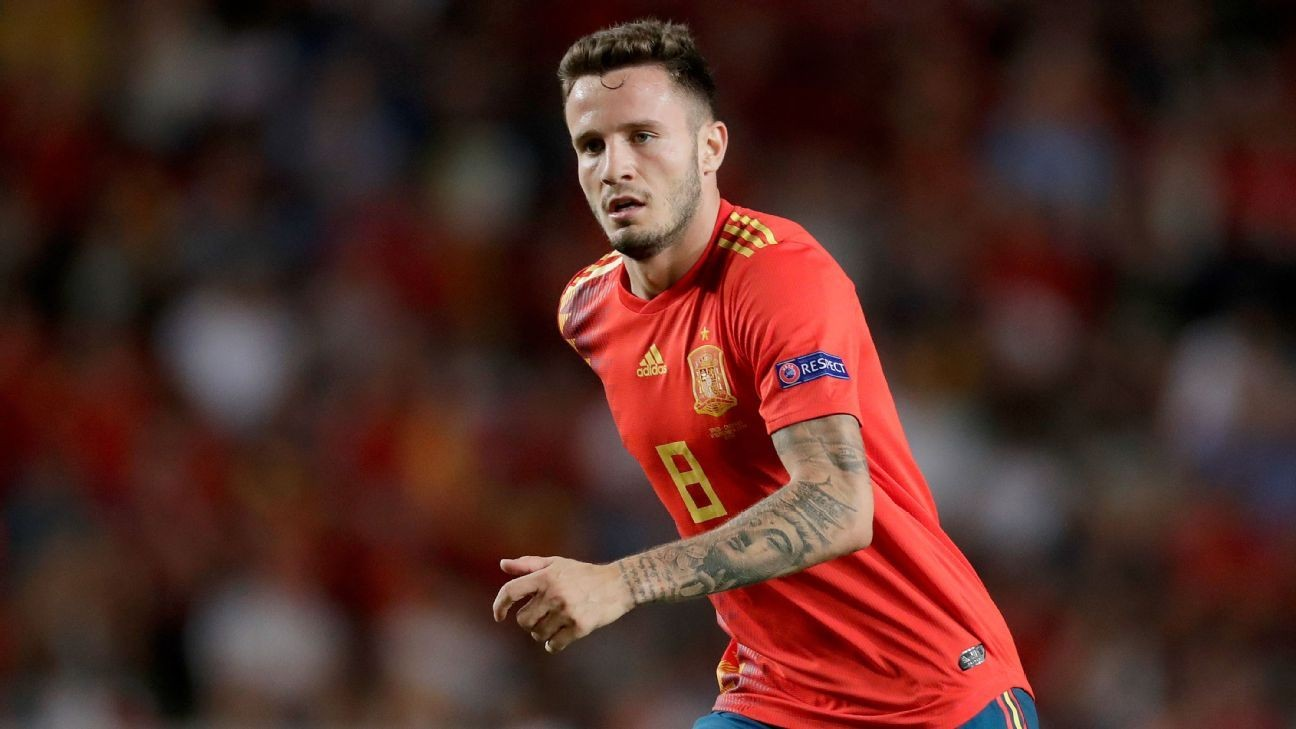 Saul is the 'future' not just for Atletico Madrid, but for Spain too