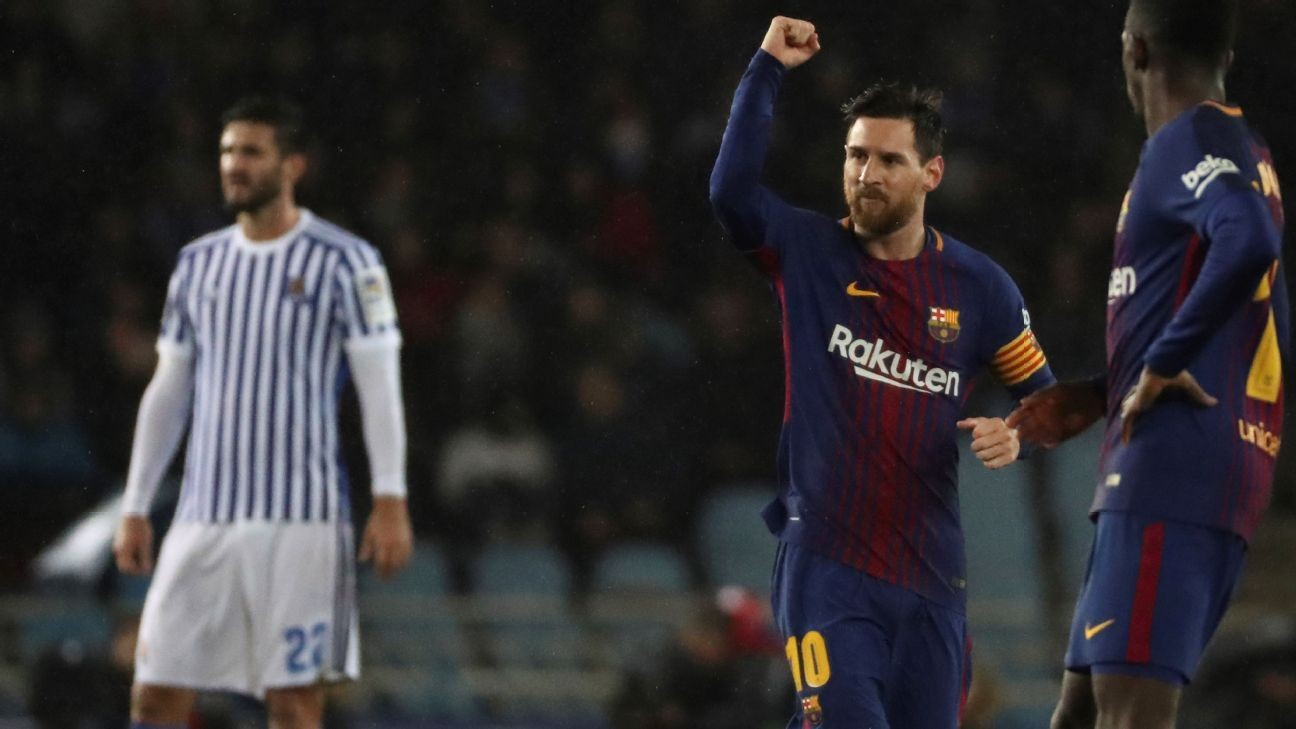 Barcelona hope prolonged rest during break keeps Real Sociedad curse at bay