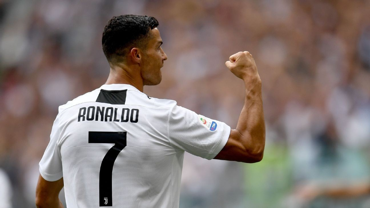 Juventus' Cristiano Ronaldo relieved to score first goals since move