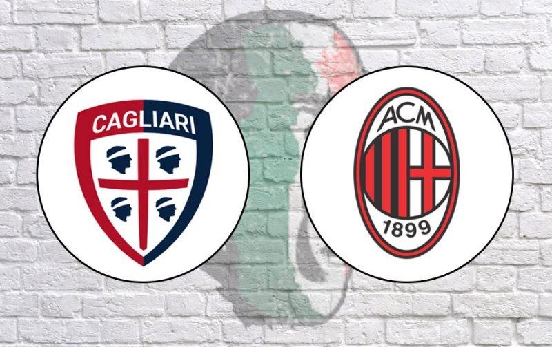 Cagliari v AC Milan: Official Line-Ups