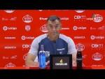 Rueda de prensa de Javi López tras el CD Lugo vs Real Oviedo