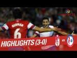 Resumen de Granada CF vs CF Rayo Majadahonda (3-0)