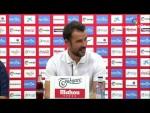 Rueda de prensa de Aritz López Garai tras el Real Sporting vs CD Numancia (1-1)