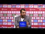 Rueda de prensa de Diego Martínez tras el Granada CF vs CF Rayo (3-0)