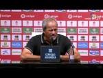 Rueda de prensa de Antonio Iriondo tras el Granada CF vs CF Rayo (3-0)