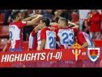 Resumen de Real Sporting vs CD Numancia (1-1)