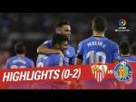 Resumen de Sevilla FC vs Getafe CF (0-2)