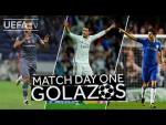 RONALDO, TOSUN, OSCAR: GREAT #UCL Match Day One GOALS!!