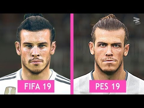 FIFA 19 Vs PES 19: Real Madrid Faces Comparison - Footballghana