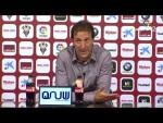 Rueda de prensa de Ramis tras el Albacete BP vs Cádiz CF (1-1)