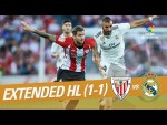 Athletic Club vs Real Madrid (1-1) - Extended Highlights