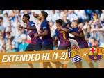 Real Sociedad vs FC Barcelona (1-2) - Extended Highlights
