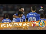 Sevilla FC vs Getafe CF (0-2) - Extended Highlights