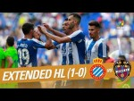RCD Espanyol vs Levante UD (1-0) - Extended Highlights