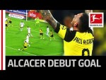 Paco Alcacer's Dream Debut - First Shot, First Dortmund Goal