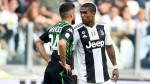 Juventus' Douglas Costa banned for four games after spitting at opponent