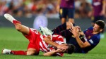 Barcelona's Ernesto Valverde perplexed by Clement Lenglet's red card
