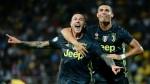 Juventus' Cristiano Ronaldo scores late goal to maintain perfect Serie A start