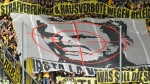 German FA investigating Borussia Dortmund, Hoffenheim for insulting banners