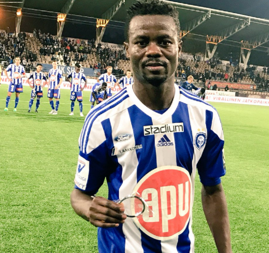Ex-Ghana star Anthony Annan suffers injury in HJK Helsinki game with Mariehamn
