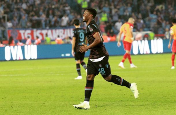 Trabzonspor ready to slap big asking price on Ghanaian striker Caleb Ekuban